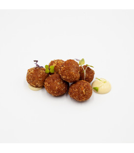 CROQUETAS DATILES Y BACON
